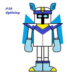 P-38 Lightning by JerryKhor
