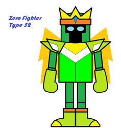 Zero Fighter Type 52 by JerryKhor
