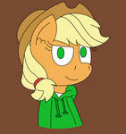 Pinkiesworld-Applejack by CreativeFoxx13