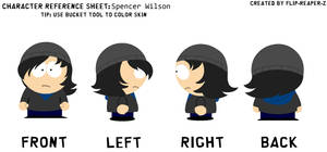 South Park-Spencer Wilson Reference Sheet by CreativeFoxx13