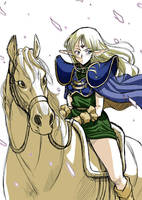 Record of Lodoss War of Deedlit by DateNaoto