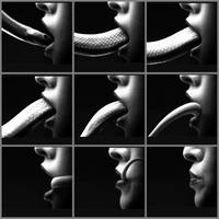 Female Snake Vore Sequence (American Horror Story) by thatvore