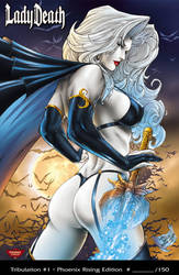 Lady Death - PCC (Colors) by SquirrelShaver