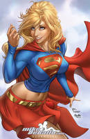 Supergirl (colors) by SquirrelShaver