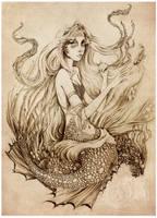 On the Sea Floor by GingerKellyStudio