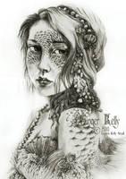 Mermaid Mask by GingerKellyStudio