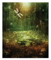 Dragonfly Forest by GingerKellyStudio
