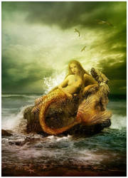 She Tells a Tale of the Sea by GingerKellyStudio