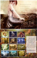 Faerie Folk, Fantasy Calendar by GingerKellyStudio