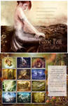 Faerie Folk, Fantasy Calendar by GingerKellyStudio