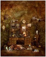 A Wizard's Best Friend by GingerKellyStudio