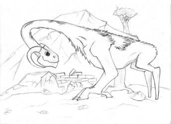 Herbibore dragon by Seyfel