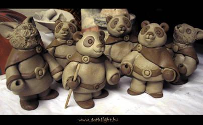 Panda travellers by DarkMask