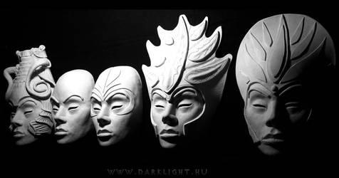 Clone Ladies by DarkMask