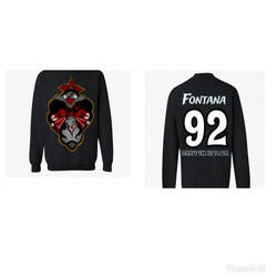 Fontana SweatShirt by 2MuchKolor