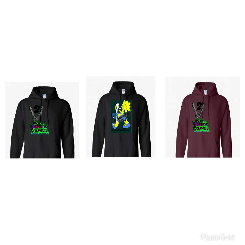 Hoodies by 2MuchKolor