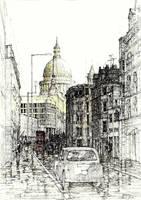 Londyn, St. Paul's Cathedral by kjablonska