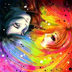 RAINBOW AND NIGHT by danydiniz