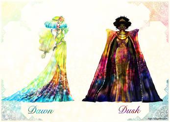 Dawn and Dusk by danydiniz