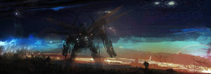 Sci Fi Mecha by Smoox