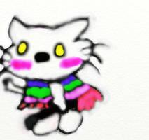 Hello Kitty (Rockstar) by RufusShinrareno