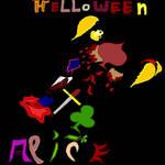Helloween Alice Sacrifice Human by RufusShinrareno