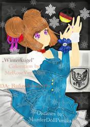 Winterkugel Outlines by:MurderDollPunika by RufusShinrareno
