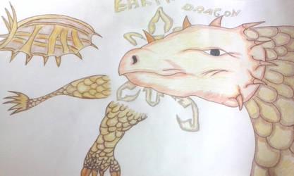 Earth Dragon by RufusShinrareno