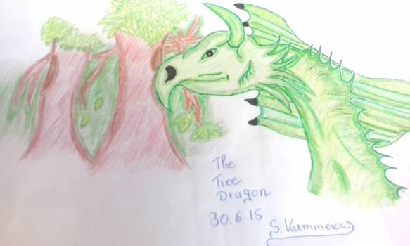the tree dragon by RufusShinrareno