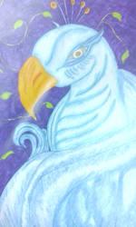 fantasy bird by RufusShinrareno