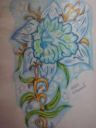 blue Flower by RufusShinrareno