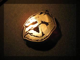 Khaosdog - pendant by Sharpfang