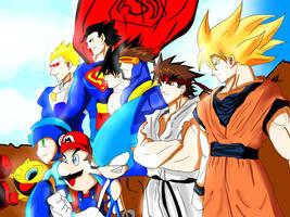Great Heroes by kaiserkleylson