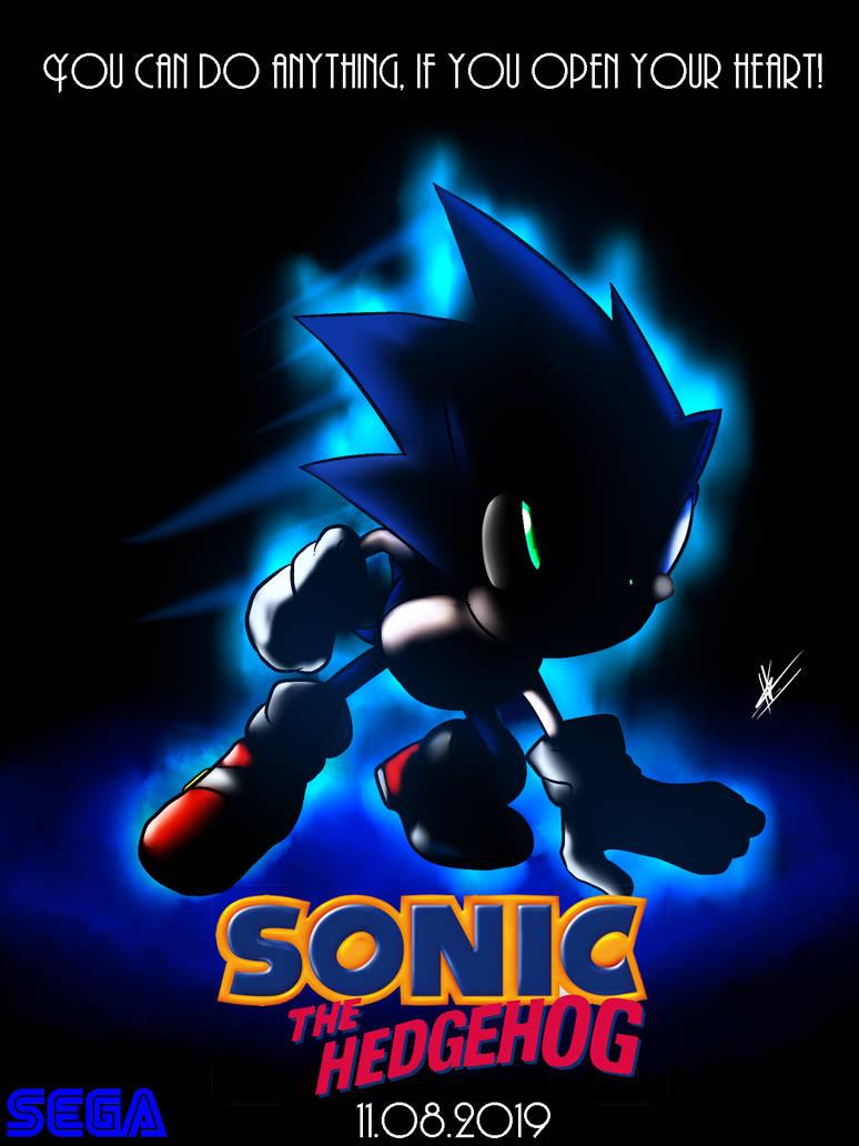 Fixed Sonic The Hedgehog Movie Teaser Poster By Kaiserkleylson On