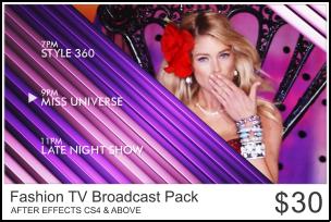 Fashion TV Broadcast Package by usmanrafi786 on DeviantArt