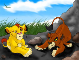 Mufasa and Taka 2 by stuffed