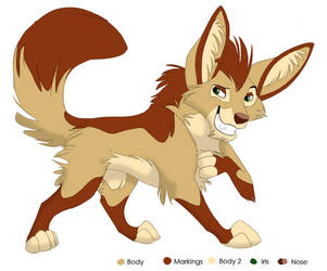Fennec Character by stuffed