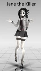 [MMD Newcomer] Jane the Killer DL by Penellis