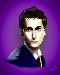 David tennant  (10th doctor) by Pamtog