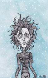 Edward Scissorhands  by Pamtog