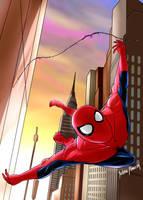 TWIP Spiderman by JART-Draws