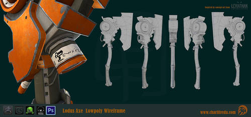 Lodus Axe wires by riotorange
