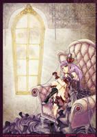A little of purple by hybrid-angel14