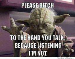 Ya Tell It Like It Is, Yoda by Angel-Eyed-Vengeance