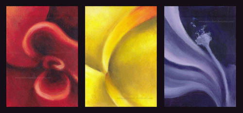 Abstract Flowers by AmberDust