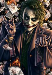 Joker: Watch The World Burn by AmberDust