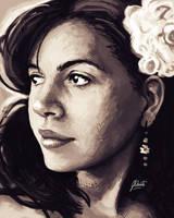 Self-Portrait III by AmberDust
