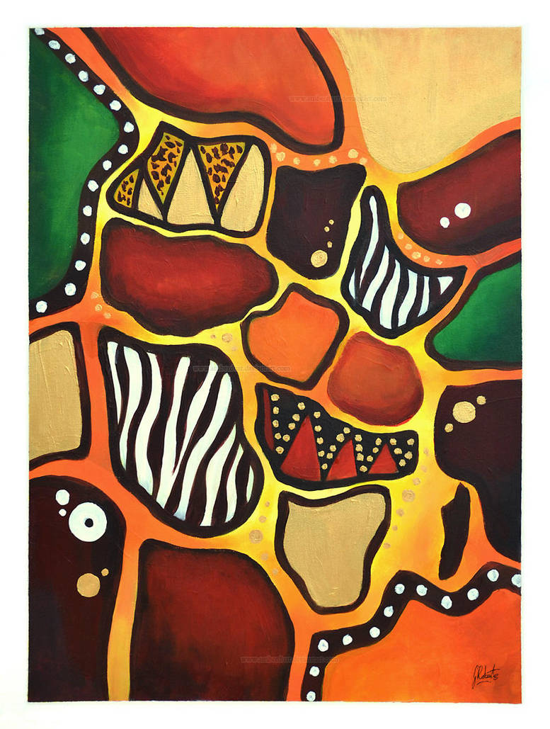 Abstract Africa by AmberDust