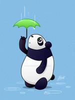 Sad Panda by AmberDust