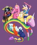 Adventure Girls by AmberDust
